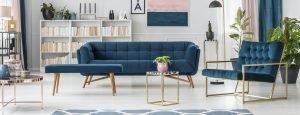 Reformas Málaga Interior de la sala de estar moderna