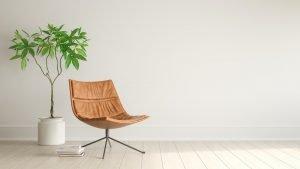 Reformas Vizcaya Interior de la sala de estar moderna