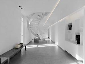 Reformas Interiores de una sala de estar moderna