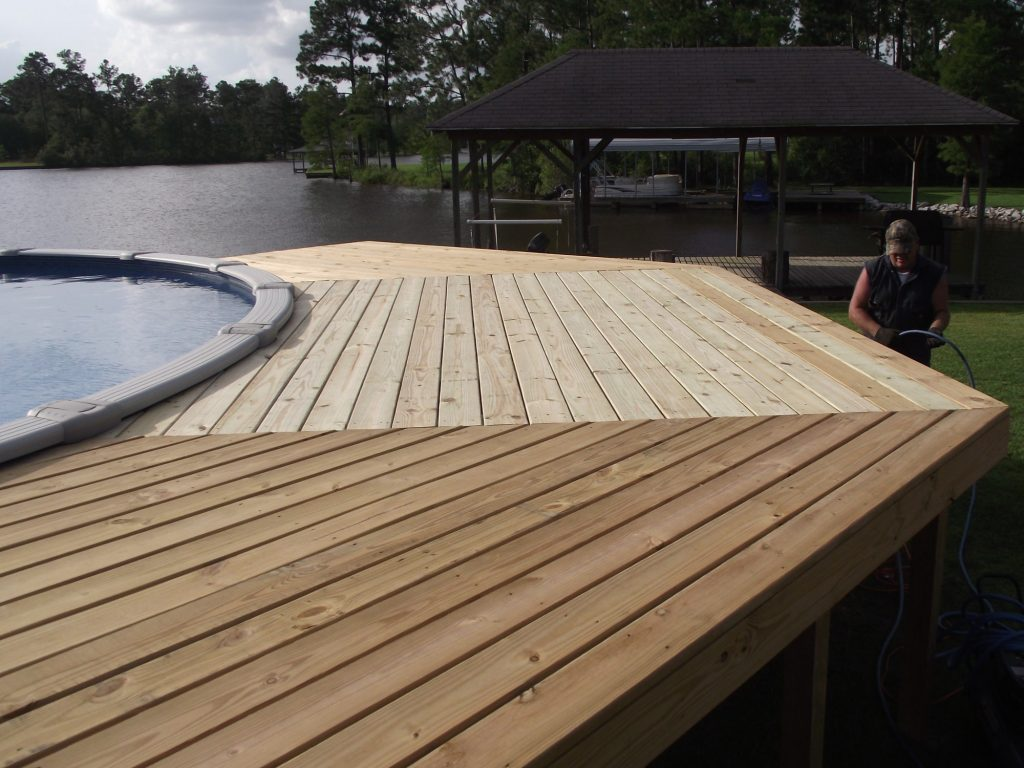 Tarima Tecnológica Pool deck